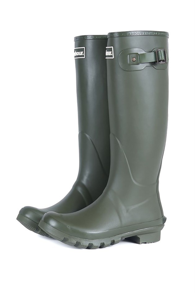 Barbour Bede Wellington Boot OL51 Olive