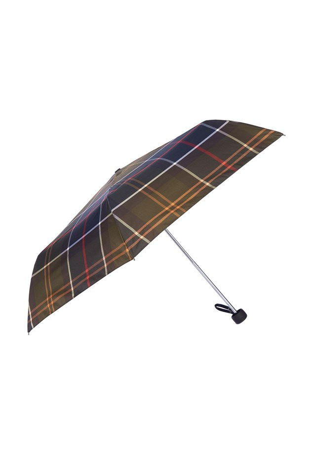 Barbour Portree Tartan Handbag Umbrella TN11 Classic Tartan