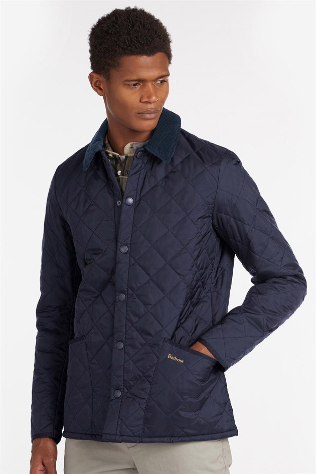 Barbour Heritage Liddesdale Quilt Jacket Slim Fit NY91 Navy