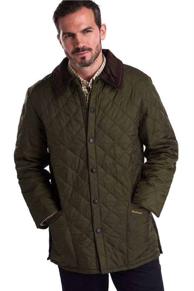 Barbour Liddesdale Quilt Jacket Regular Fit OL91 Olive