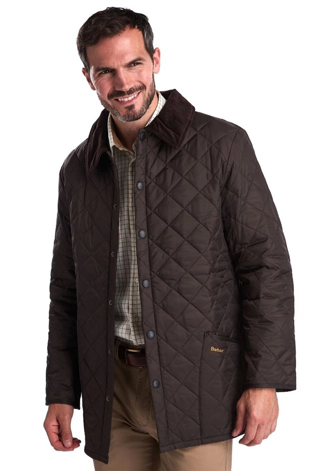 Barbour Liddesdale Quilt Jacket Regular Fit RU51 Rustic