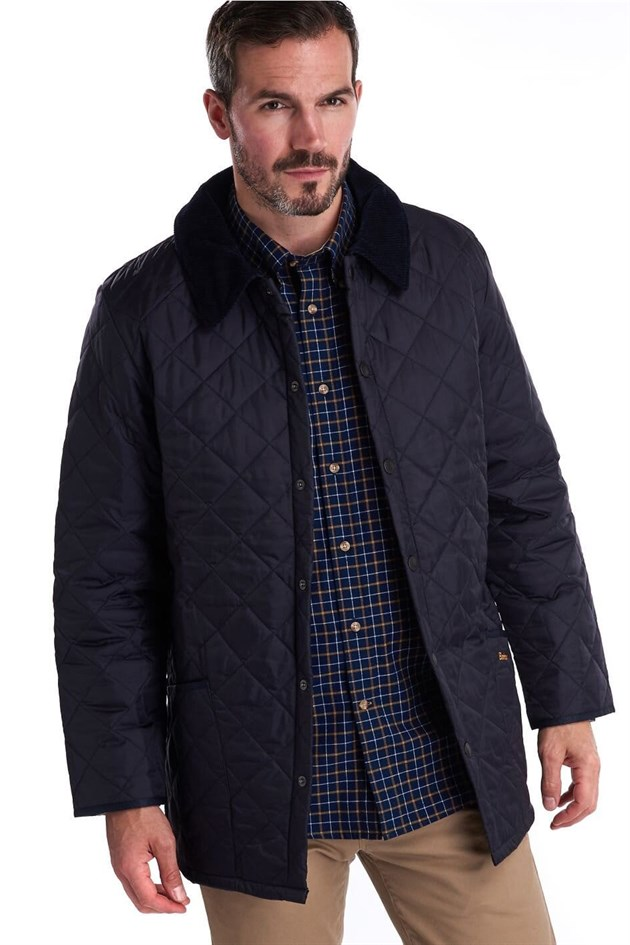 Barbour Liddesdale Quilt Jacket Regular Fit NY91 Navy