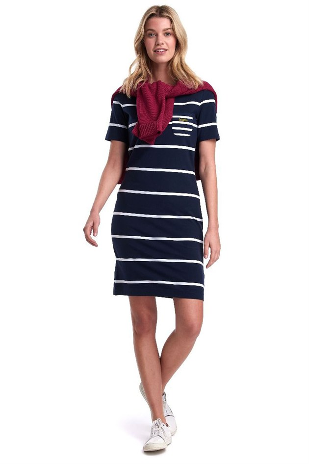 Barbour Stokehold Dres NY73 Navy